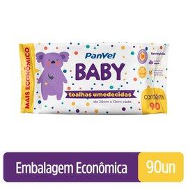 Toalhas Umedecidas Panvel Baby 96 Unidades