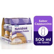 Nutridrink Compact Protein Cappuccino 4 Unidades Com 125ml