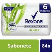 Sabonete Em Barra Rexona Antibacterial Bamboo 6x84g