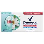 Sabonete Em Barra Rexona Antibacterial Fresh 6x84g