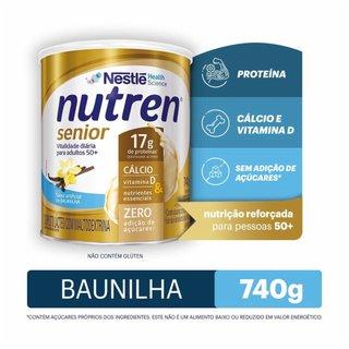 Complemento Alimentar Nutren Senior Baunilha 740g