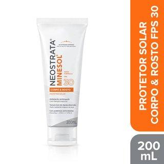 Protetor Solar Neostrata Minesol Corpo & Rosto Fps 30 200ml