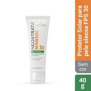 Protetor Solar Facial Neostrata Minesol Oil Control Fps 30 40g