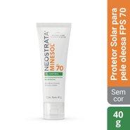 Protetor Solar Facial Neostrata Minesol Oil Control Fps 70 40g