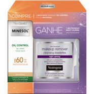 Kit Neostrata Minesol Oil Control Universal Fps 60 40g Grátis Neutrogena Night Calming 25 Unidades