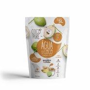 Água De Coco Cocopure Gengibre E Limão Pouch Refil 200g