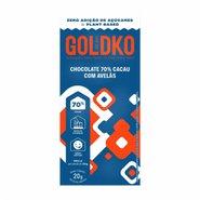 Chocolate GoldEKo 70 Cacau Com Avela Zero Acucar 20g