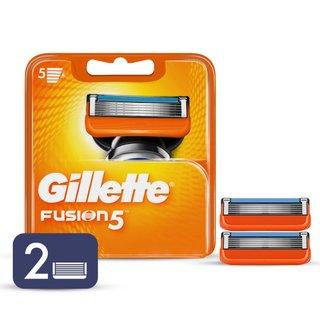 Carga Para Aparelho De Barbear Gillette Fusion5 Com 2 Unidades