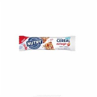 Barra De Cereal Nutry Morango Zero Açúcar 22g