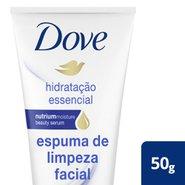 Espuma De Limpeza Facial Dove Hidratacao Essencial 50g