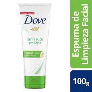 Espuma De Limpeza Facial Dove Purificação Profunda 100g