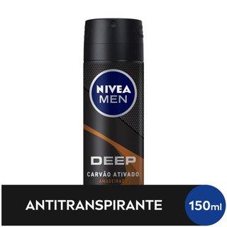 Desodorante Aero Nivea Deep Amadeirado 150ml