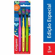 Escova Dental Colgate Ultra Soft Pack C/3