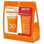 Kit Actine Protetor Solar Fps30 40g + Sabonete Liquido Pele Acneica 60ml