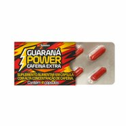 Guarana Power Sanitas 4 Capsulas