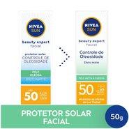 Protetor Solar Facial Nivea Beauty Expert Pele Oleosa Fps 50 50g