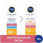 Protetor Solar Facial Nivea Beauty Expert Pele Normal A Seca Fps 50 50g