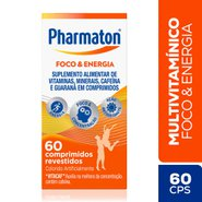 Multivitaminico Pharmaton Energy 60 Comprimidos