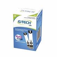 Tiras Reagentes G-tech Lite Com 25 Unidades