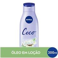 Loção Hidratante Nivea Coco & Óleo Monoi 200ml