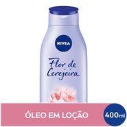 Loção Hidratante Nivea Flor De Cerejeira & Óleo De Jojoba 400ml