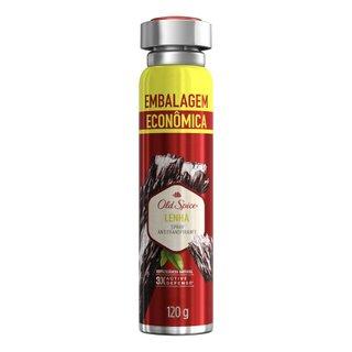 Desodorante Spray Old Spice Lenha 200ml