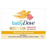 Sabonete Em Barra Baby Dove Hidratacao Balanceada 75 Gr