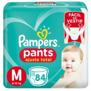 Fralda Pampers Pants Bag Ajuste Total M Com 84 Unidades