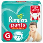 Fralda Pampers Pants Bag Ajuste Total G Com 72 Unidades