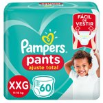Fralda Pampers Pants Bag Ajuste Total Xxg Com 60 Unidades