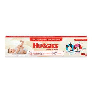 Creme Preventivo De Assaduras Huggies Supreme Care 80g