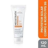 Protetor Solar Neostrata Minesol Corpo & Rosto Antioxidante Fps99 120ml
