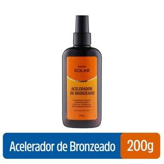 Acelerador De Bronzeado Panvel Solar Spray Gel 200g