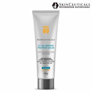 Protetor Solar Skinceuticals Uv Oil Defense Fps 80 Com Cor 40g