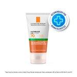 Protetor Solar Facial La Roche Posay Anthelios Airlicium Antioleosidade Pele Morena Mais Fps70 40g