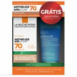 Kit Protetor Solar La Roche Posay Anthelios Airlicium Pele Clara Fps 70 40g + Effaclar Concentrado 4