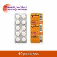 Antiácido Gastrol 10 Pastilhas Mastigáveis