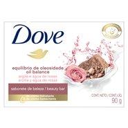 Sabonete Em Barra Dove  Equilibrio De Oleosidade Argila E Agua De Rosas Dove 90g