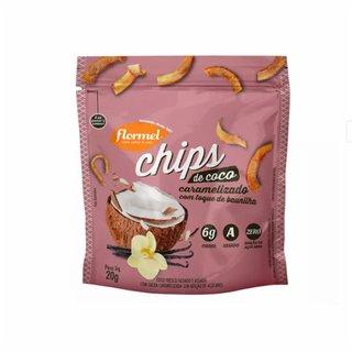Chips De Coco Flormel Caramelizado 20g