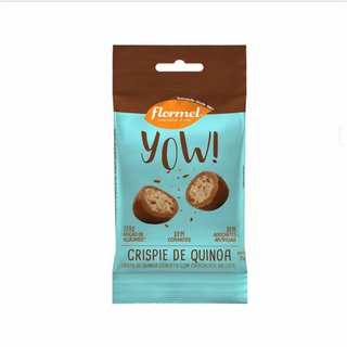 Chocolate Flormel Crispies De Quinoa Drageado 35g