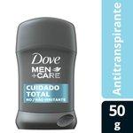 Desodorante Antitranspirante Em Barra Cuidado Total Dove Men+Care Stick 50g