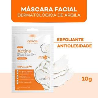 Máscara Esfoliante De Argila Actine Com 2 Aplicações 5g Cada