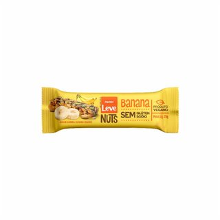 Barra Nuts Sabor Banana Panvel Leve 25g
