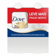 Kit Dove Roll-on Original 2un 50ml Cada /50% Desc Seg Unidade