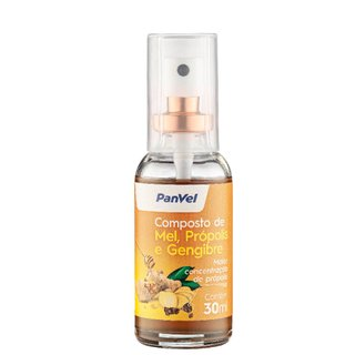 Própolis Spray Mel E Gengibre Panvel 30ml