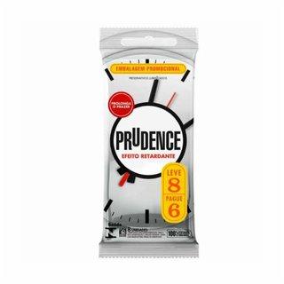 Preservativo Prudence Efeito Retardante Leve 8 E Pague 6