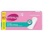 Protetor Diario Intimus Days Antibacteriano Com 80 Unidades
