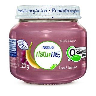 Papinha Nestle Organica Uva E Banana  120g