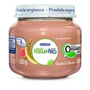 Papinha Nestle Organica Goiaba E Banana  120g
