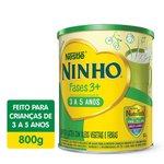 Composto Lacteo Nestle Ninho Fases 3+ Lata 800g